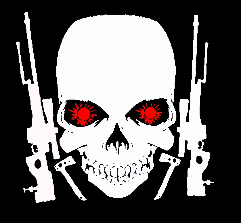Cool Skull Logos With Guns hellena mastrip...